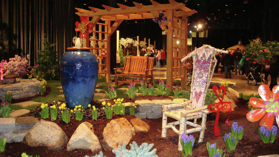 The 34th annual Connecticut Flower& Garden Show will feature about 20 gardens and more than 300 displays Thursday, Feb. 19, through Sunday, Feb. 22, at the Connecticut Convention Center in Hartford. Photo: Contributed Photo / Connecticut Post Contributed