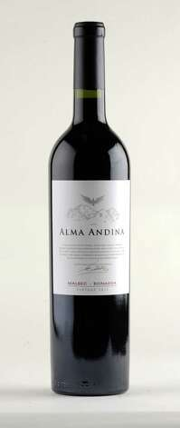 Alma Andina 2012 malbec ?Ai bonarda Thursday Oct. 9, 2014, at the Times Union in Colonie, N.Y. (Will Waldron/Times Union) Photo: WW
