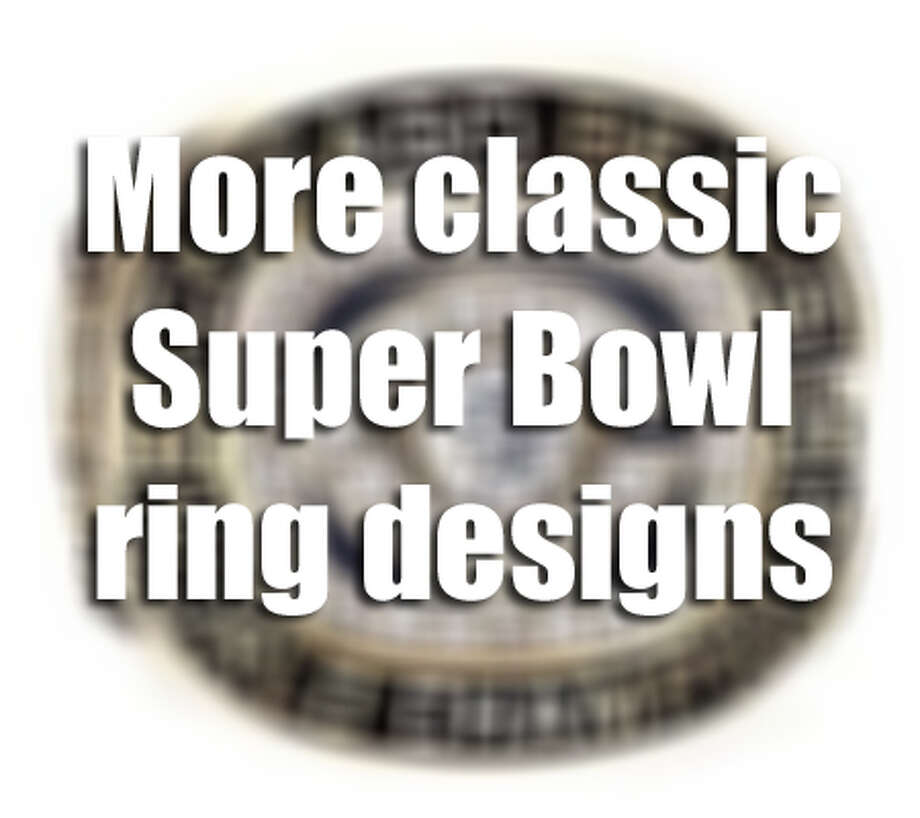 Check out some of the coolest Super Bowl rings in NFL history. Photo: Houston Chronicle