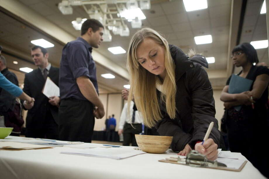 Unemployment data shows 2017 was a good year for job seekers in construction, health care and hospitality. FILE PHOTO Photo: Natalie Behring, Getty Images / 2011 Getty Images