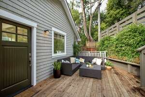 Decks, inviting outdoor spaces are standouts of Mill Valley home - Photo