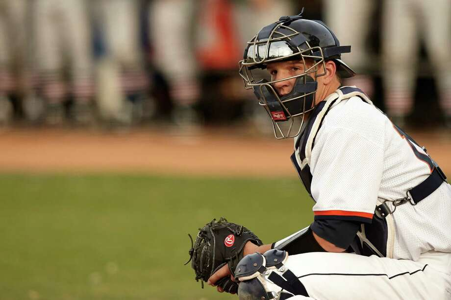 "UTSA catcher John Bormann, shown in this 2013 file photo, said that he turned down ""just under $100,000"" from the Los Angeles Angels last summer to return for his senior year with the Roadrunners. Photo: Jeff Huehn /UTSA Athletics / ©2013 Jeff Huehn"
