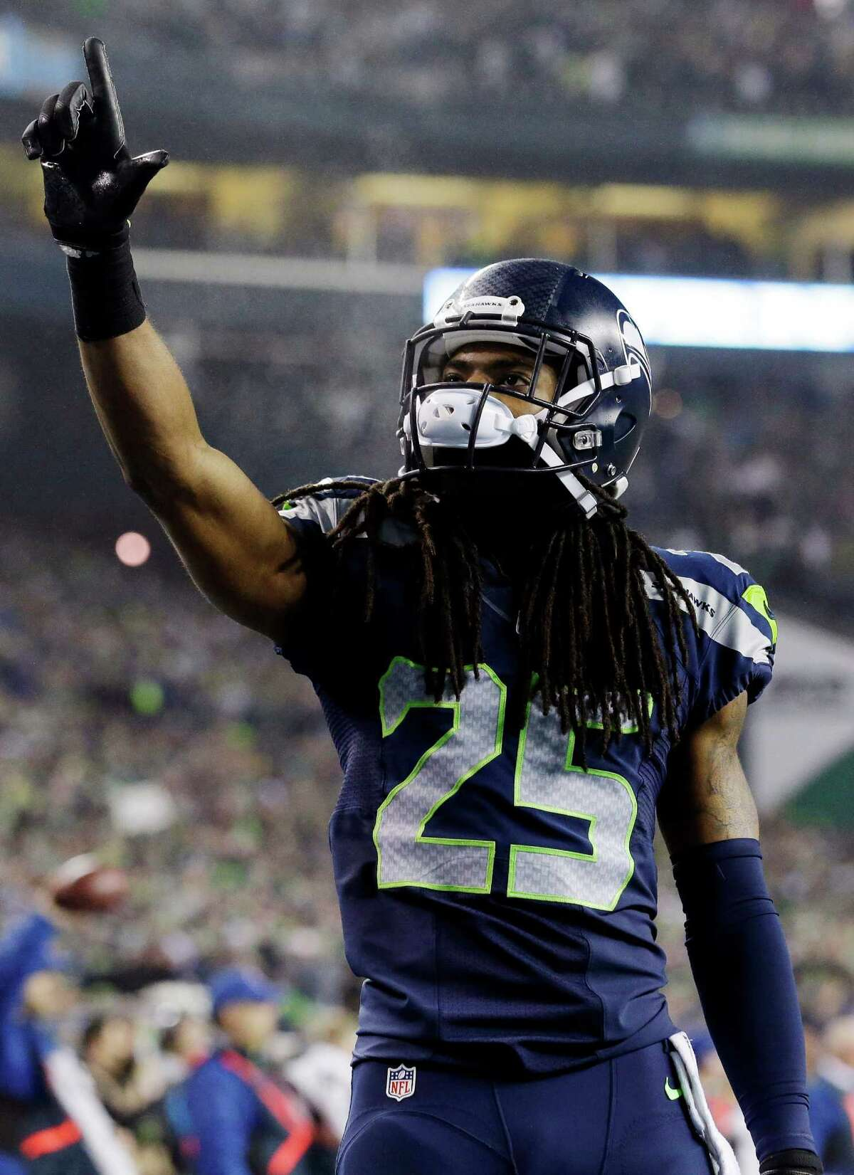 Seattle's Richard Sherman has a knack for backing up his trash talk with his play for the defending champions.