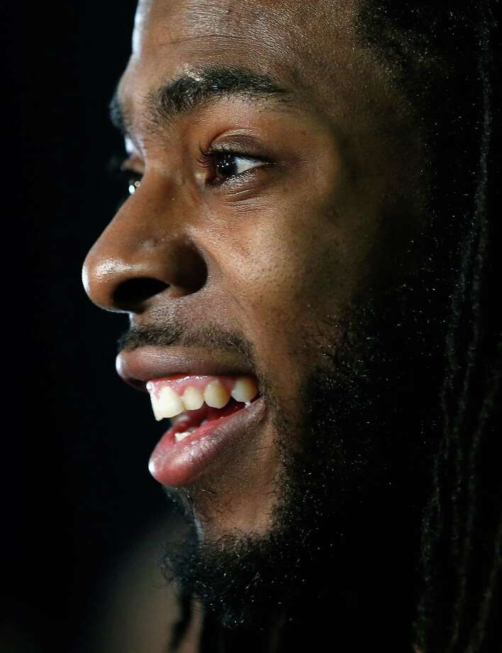 Only a fifth-round pick in 2011, the brash Richard Sherman didn't take long to receive plenty of attention. Photo: Christian Petersen, Staff / 2015 Getty Images