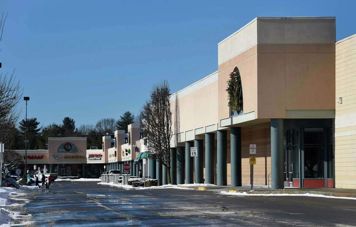 An exterior view of the former Kmart, Wednesday afternoon Jan. 28, 2015, which would be demolished by Windsor Development for a $50M mixed-use development including apartments, shops, and office space in Clifton Park, N.Y. (Skip Dickstein/Times Union)