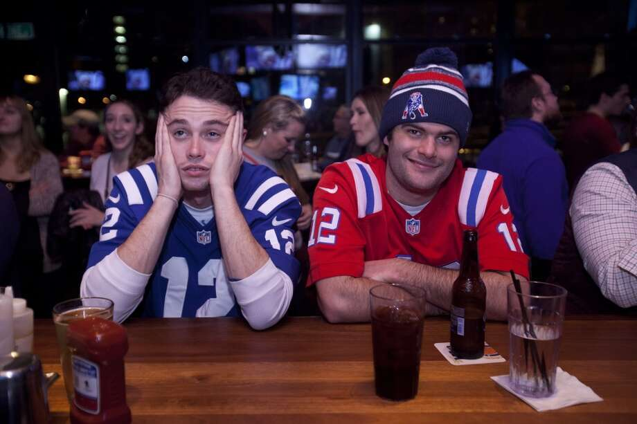 1) Do wear a team jersey.Sporting a jersey of one of the two teams in the game is encouraged but don't don the jersey of say the Colts. Sorry, your team lost. Get over it. Also, don't drop 100 bucks on a jersey just for the party. Jeans and a T-shirt are perfectly acceptable attire. Photo: Getty