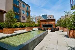 The shared outdoor space