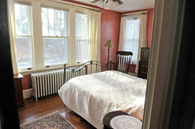 A view of the master bedroom inside the home located at 31 Locust Ave., on Tuesday, Jan. 20, 2015, in Troy, N.Y.   (Paul Buckowski / Times Union) Photo: Paul Buckowski / 00030229A