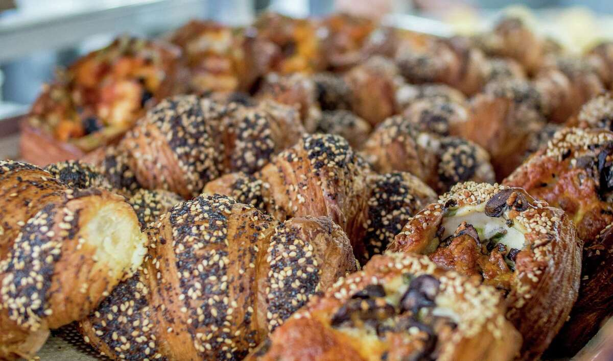 Neighbor Bakehouse: everything croissant  This savory croissant has a cream cheese center and covered with a blend of seeds on top. The Chronicle's Jonathan Kauffman recommended this particular croissant over their classic option.  Find them:2343 3rd St.,San Francisco