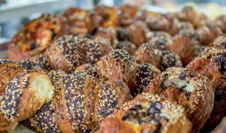 The everything croissants at Greg Mindel's Neighbor Bakehouse in the Dogpatch neighborhood of San Francisco. Photo: John Storey / Special To The Chronicle / ONLINE_YES