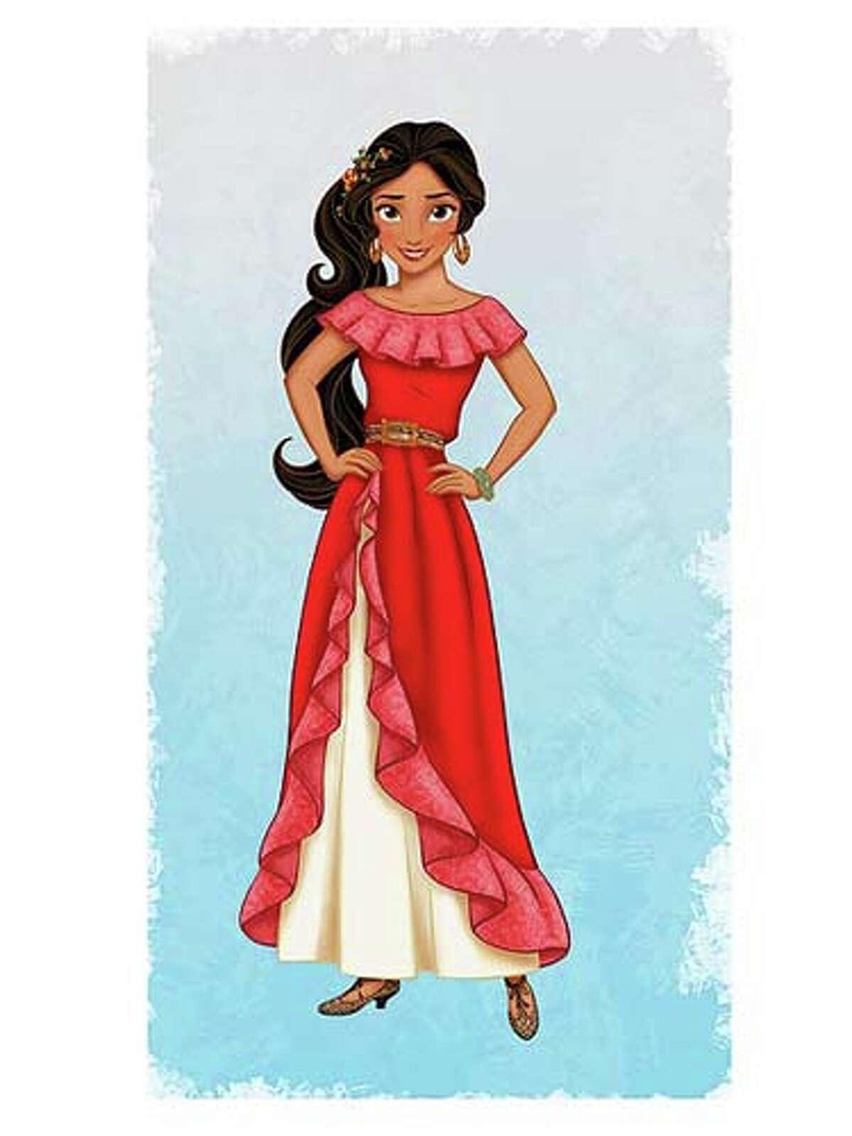 Elena de Avalor is Disney's first Latina princess.