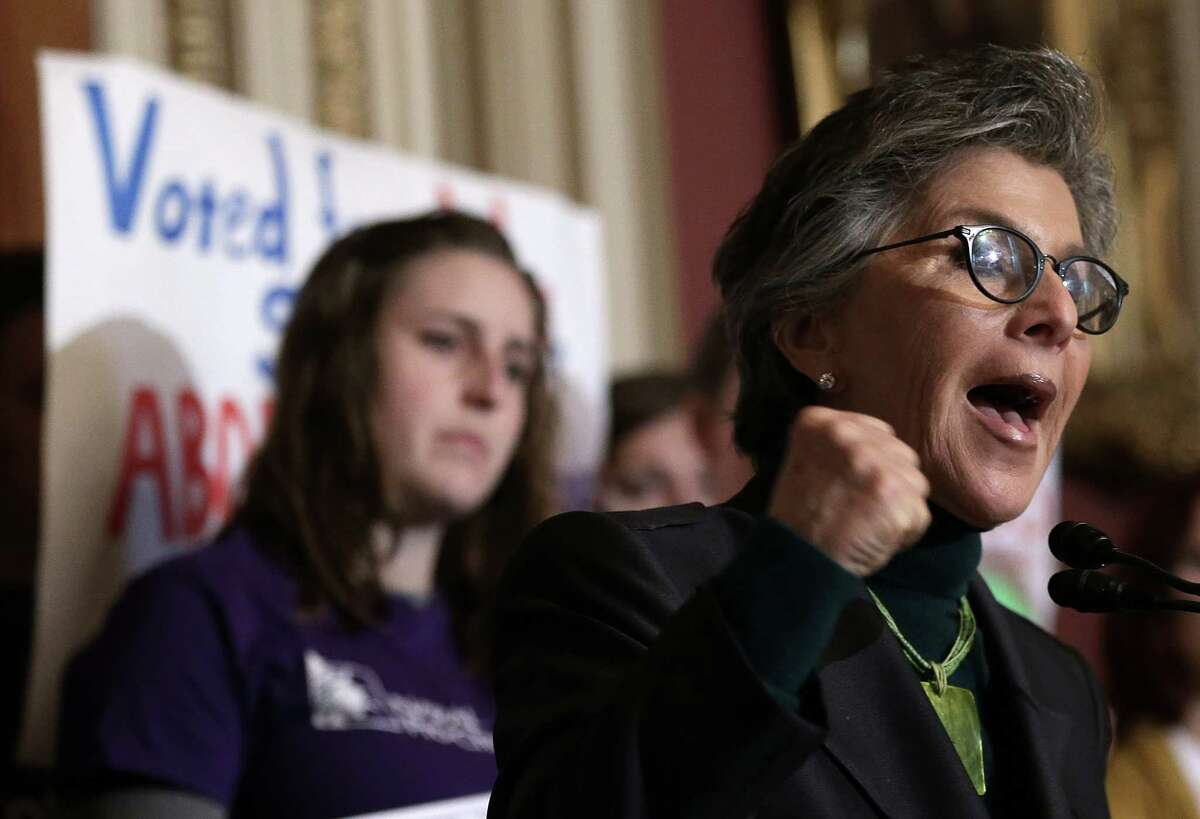 Sen. Barbara Boxer, D-Calif., was among dozens of Democrats who opposed President Obama's effort to secure fast-track authority to negotiate the Trans-Pacific Partnership.