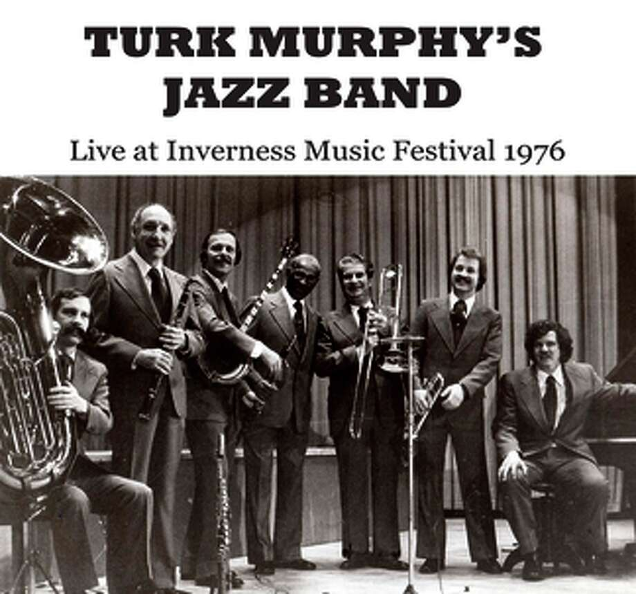 """cd cover: """"Turk Murphy's Jazz Band"""" at the 1976 Inverness Music Festival. Photo: Merry Makers / Merry Makers / ONLINE_YES"""