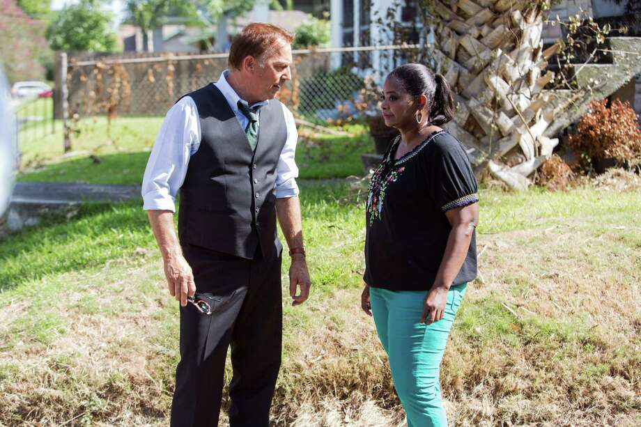 """This photo released by Relativity Media shows Kevin Costner, left, and Octavia Spencer, in a scene from Relativity Media's """"Black or White.""""  (AP Photo/Relativity Media, Tracy Bennett) ORG XMIT: CAET535 Photo: Tracy Bennett / Relativity Media"""