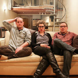 Daikon — Eric Shapiro (left), Shaye Farwell, Jerry Andersen — brings its melodic indie rock to Bottom of the Hill on Thursday, Feb. 5.
