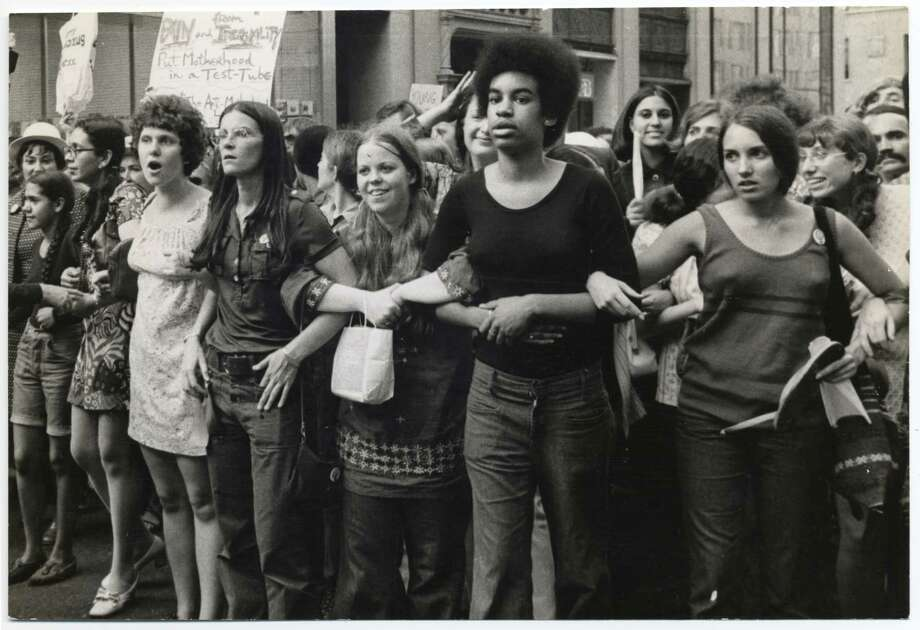 "A march for women's liberation in the 1960s from the new documentary ""She's Beautiful When She's Angry,"" directed by Mary Dore. Photo: Diana Davies / Diana Davies / ONLINE_YES"