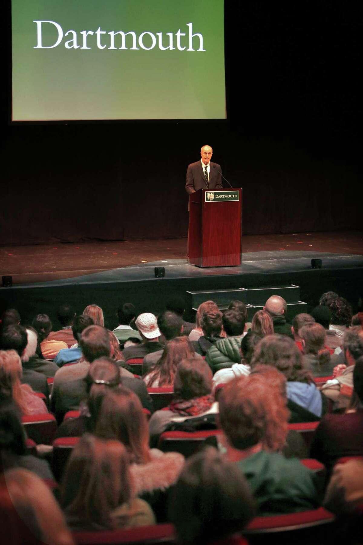 25. Dartmouth College - $4.47 billion endowment Hanover, New Hampshire, USA