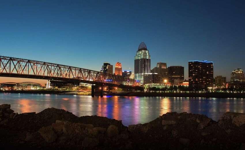 10. Cincinnati, Ohio Millennial Population (20-34): 27%