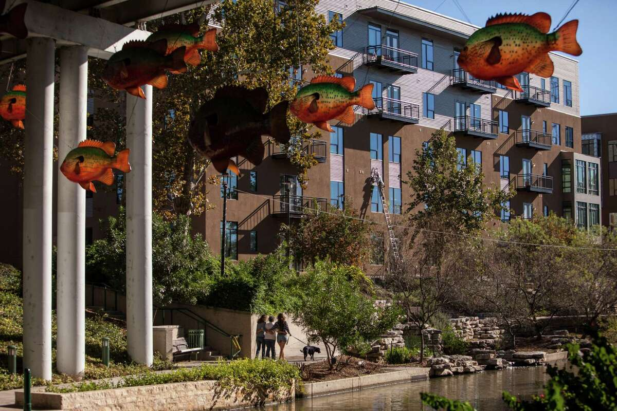 River House along the Museum Reach of the San Antonio River is one of two developments likely to boost the area's apartment and condo units from 1,000 to 1,700 by the end of the year.