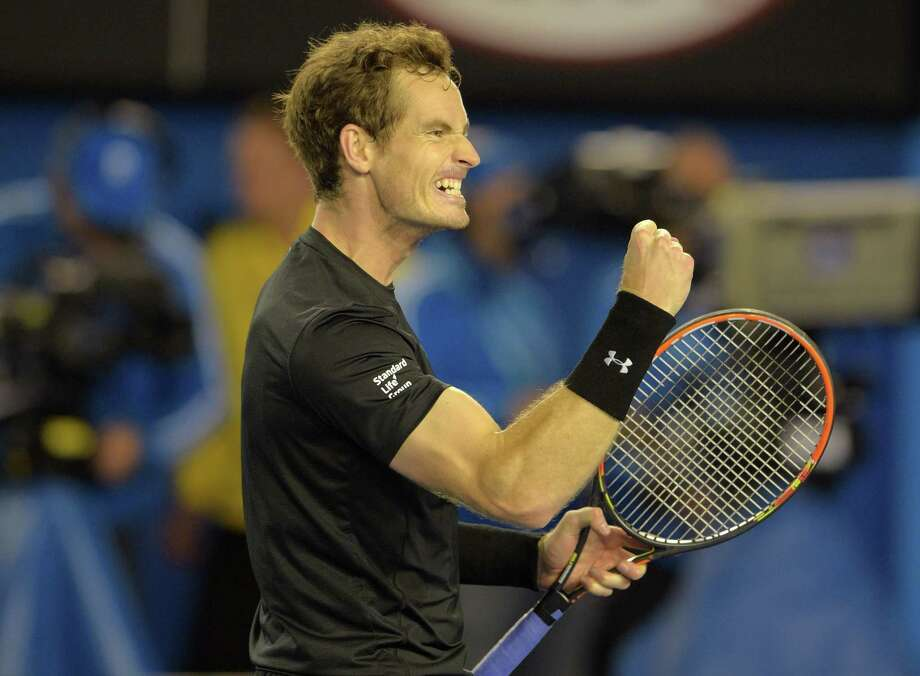 A four-set victory over Tomas Berdych has Andy Murray pumped up more than usual. The Australian Open semifinal match was fueled by the extra story line of Murray's former hitting partner now in Berdych's camp. Photo: GREG WOOD, Staff / AFP