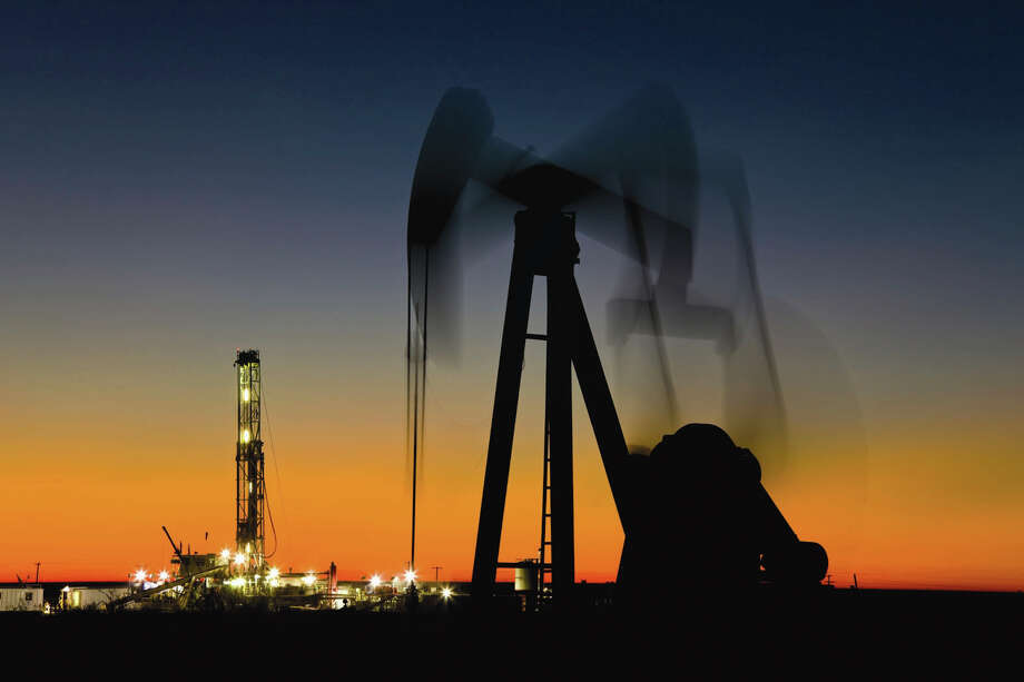 An undated handout photo of Occidental Petroleum Corp.'s Goldsmith field in the Permian Basin, near Midland. After years of making record profits as oil prices soared, America's oil giants are beginning to lose money. Occidental Petroleum said it had lost more than $3 billion in the fourth quarter compared to a $1.6 billion gain in the same quarter in 2013. Photo: Occidental Petroleum / OCCIDENTAL PETROLEUM