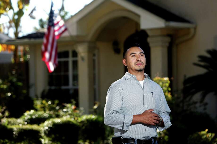 From his southwest Houston home, Rosendo Ticas reflects on the 2001 legislation that helped him succeed. Photo: Gary Coronado, Staff / © 2015 Houston Chronicle