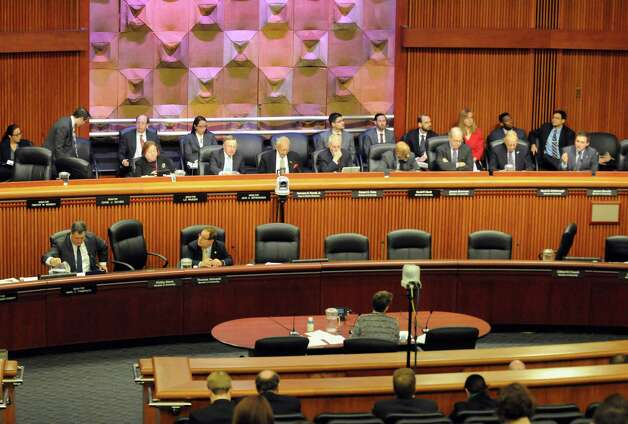 NYS Department of Transportation Commissioner Joan McDonald answers questions during the New York State Legislature joint budget hearing on transportation Thursday Jan. 29, 2015 in Albany , N.Y. (Michael P. Farrell/Times Union) Photo: Michael P. Farrell