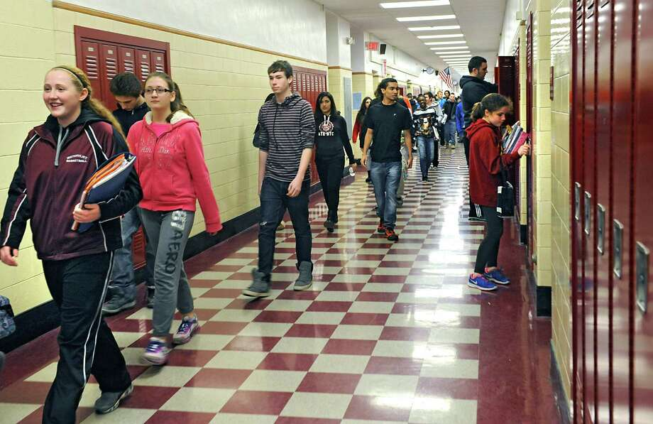 """The following Capital Region schools are considered """"fiscally stressed.""""Watervliet City School District, Albany County:Fiscal stress score: 80%. Classified as under significant stress. Photo: Lori Van Buren / 00030330A"""
