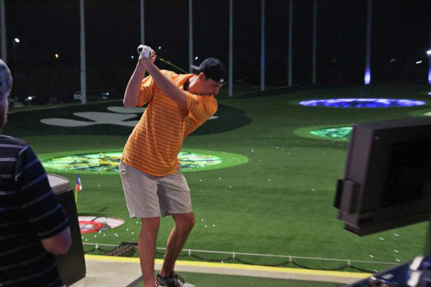Topgolf San Antonio , 5539 North Loop 1604 W Guests can get a fun golfing experience, as well as chow down on delicious food and alcoholic beverages.