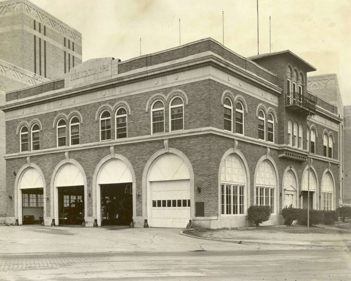 Central Fire Station Years it stood: 1904 through 1924 See Raymond Biesinger's illustration >>