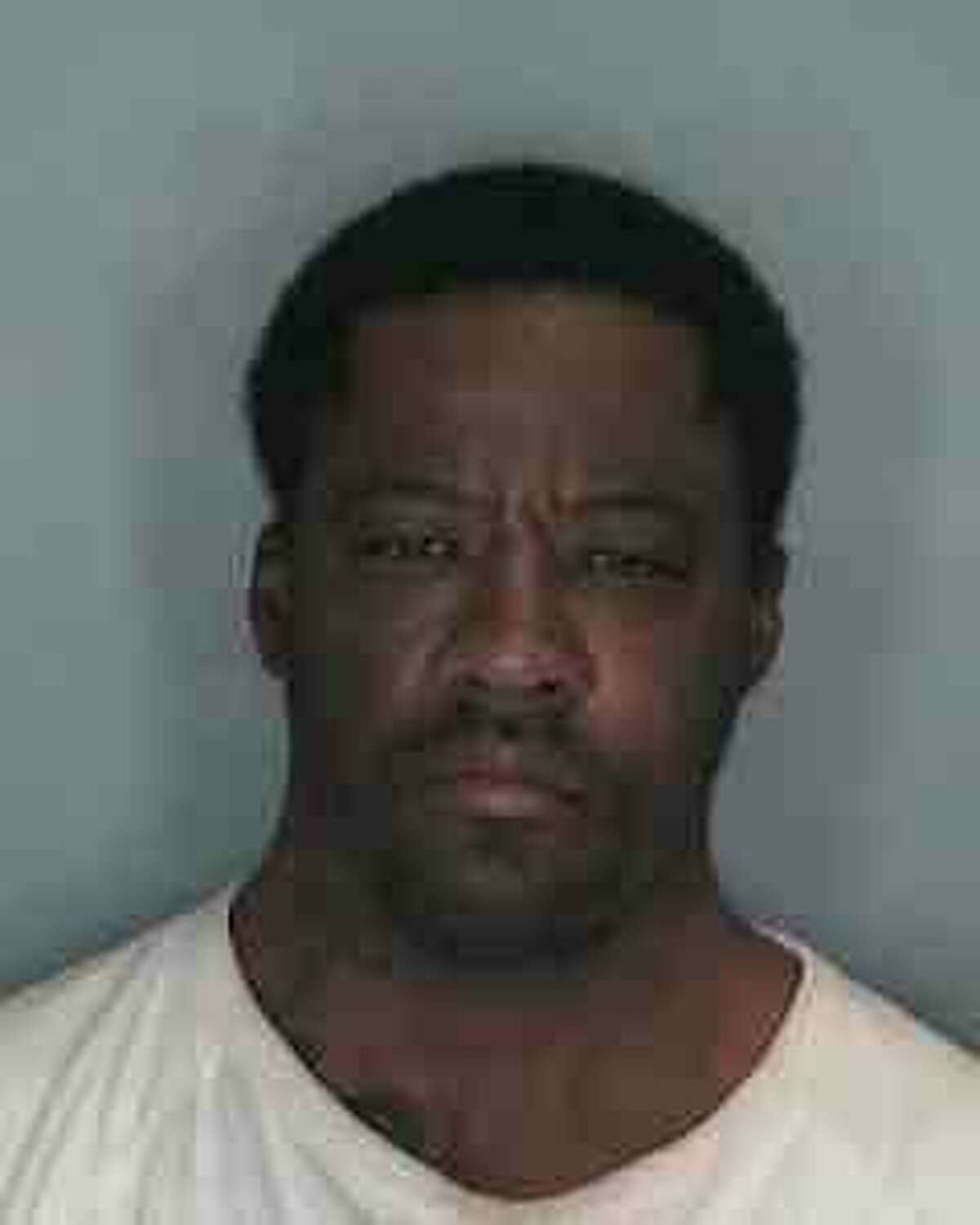 Jamell Steven Modest, 46, of Schenectady, was charged Dec. 14, 2014 in the shooting death of Marika Booth, who also went by Marika Harris. Booth was near her infant at the time she was shot and killed. (Schenectady Police Department) ORG XMIT: MER2014121410311208
