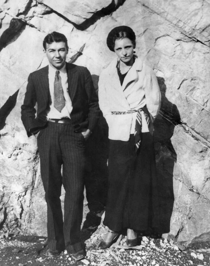Bonnie Parker and Clyde Barrow, who were killed in an ambush by Texas and Louisiana police officers in Bienville Parish, Louisiana.   (AFP PHOTO/FILES-/AFP/GettyImages) Photo: -, AFP/Getty Images