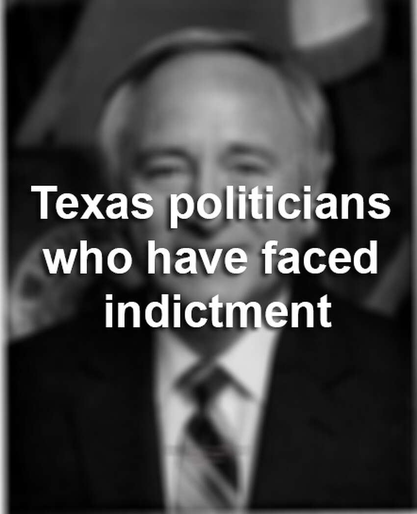 Texas politicians who have faced indictment