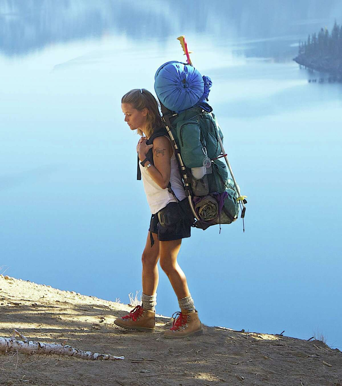 """Cheryl Strayed (played by Reese Witherspoon in """"Wild"""") hurt her feet badly with ill-fitting hiking boots on her 1,100-mile trek."""