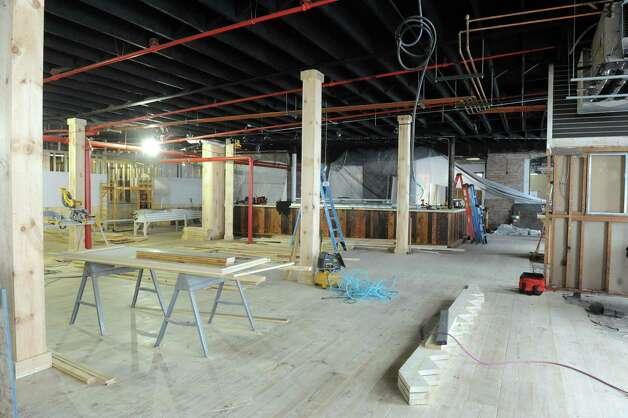 The new Druthers Brewing brew pub at 1053 Broadway under construction on Friday Jan. 30, 2015 in Albany, N.Y. (Michael P. Farrell/Times Union) Photo: Michael P. Farrell / 00030400A