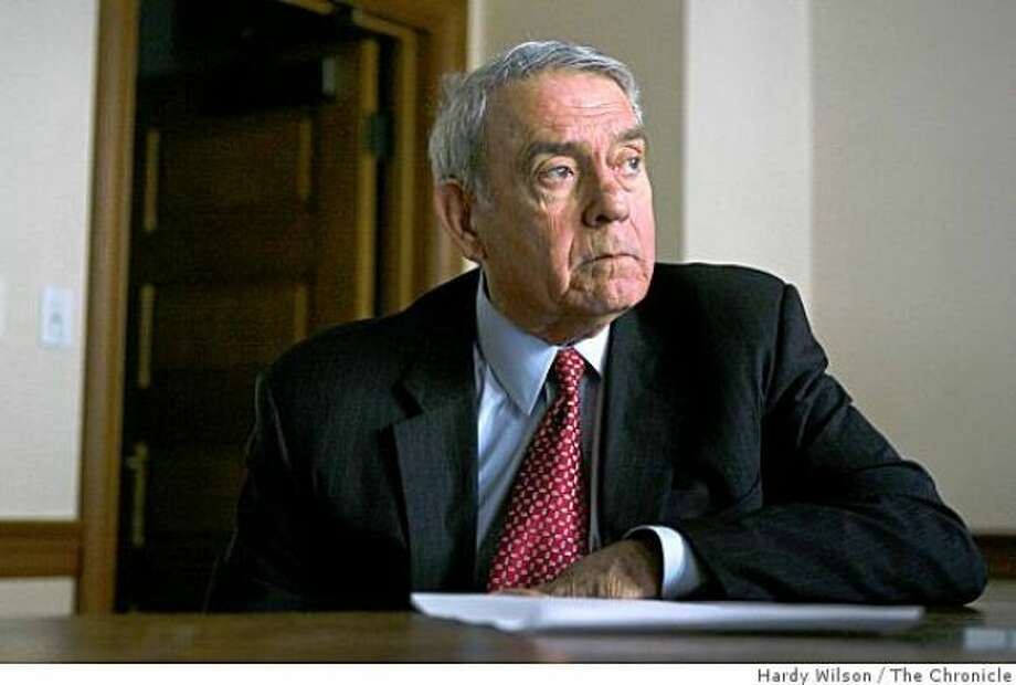 Dan Rather Photo: Hardy Wilson / The Chronicle