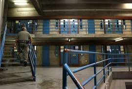 Security housing unit B at the California State Prison Sacramento on Wednesday March 05, 2014, in Represa, Calif. Sacramento is one of four prisons in the state that have Security Housing Units. Critics argue that the SHU's  are solitary confinement and torture.