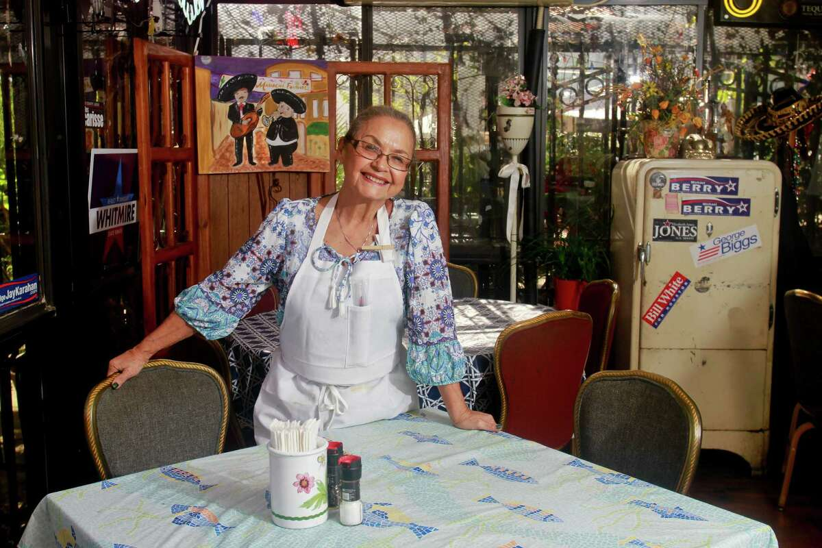 Irma Galvan, owner of the downtown restaurant Irma's, has found ingredients she needs much easier to come by now than when she started years ago. For the right peppers and spices, she drove to the Mexican border cities.