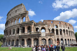 At some major ancient sights, such as Rome's Colosseum, you can hire guides on the spot.