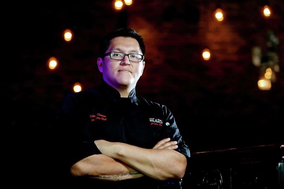 Edwin Chanas is the executive chef at Hearsay on the Green. Photo: Gary Coronado, Staff / © 2015 Houston Chronicle
