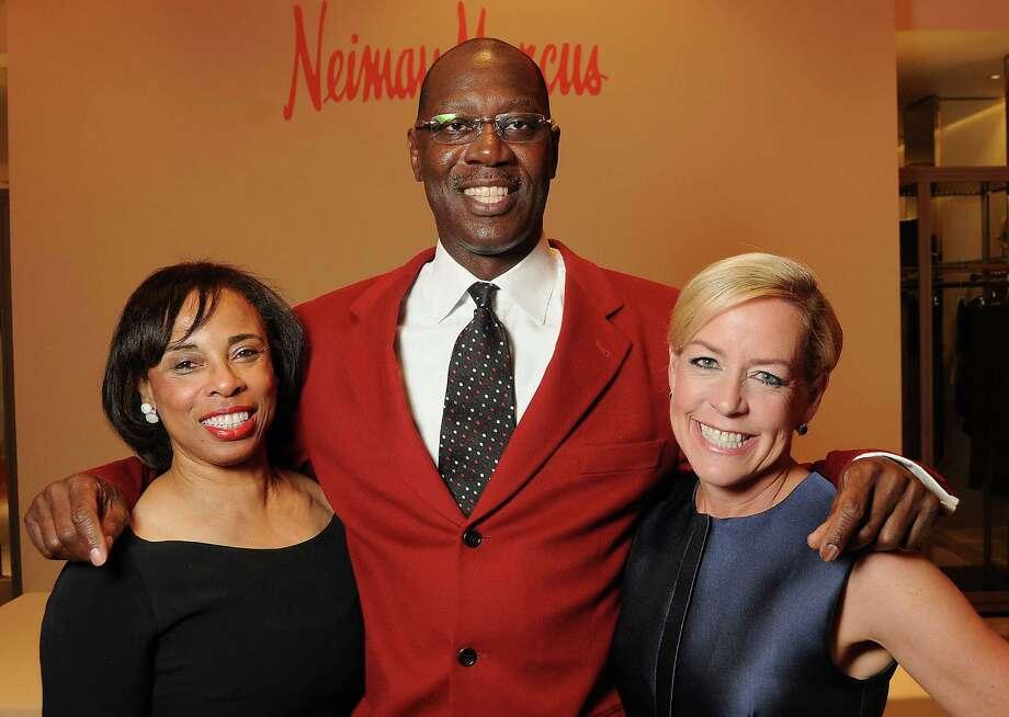 Phyllis and Cornel Williams, left, with chair Rosemary Schatzman Photo: Dave Rossman, Freelance / Freelalnce