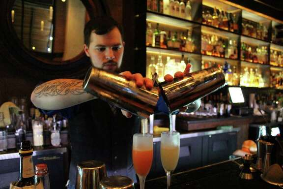 Stephan Mendez is general manager at Blue Box bar at The Pearl.