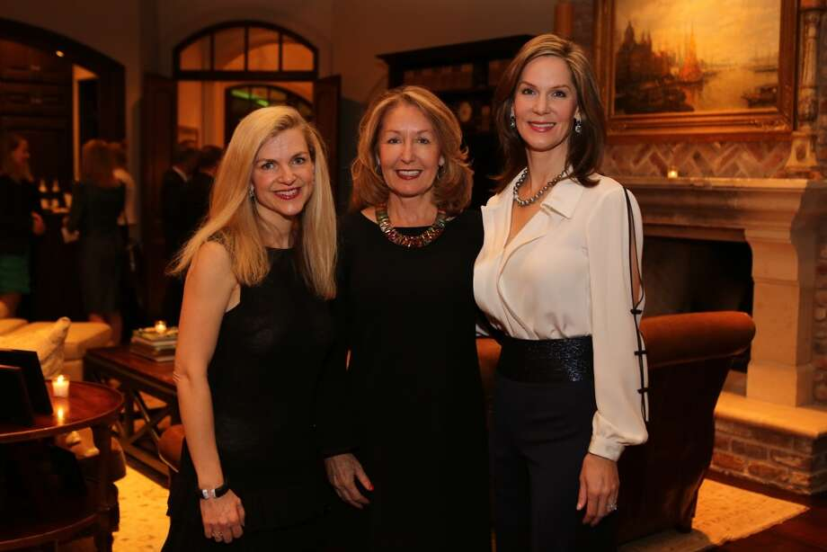 Kimberly Miller, June Christensen, and Katherine Murphy Photo: Priscilla Dickson
