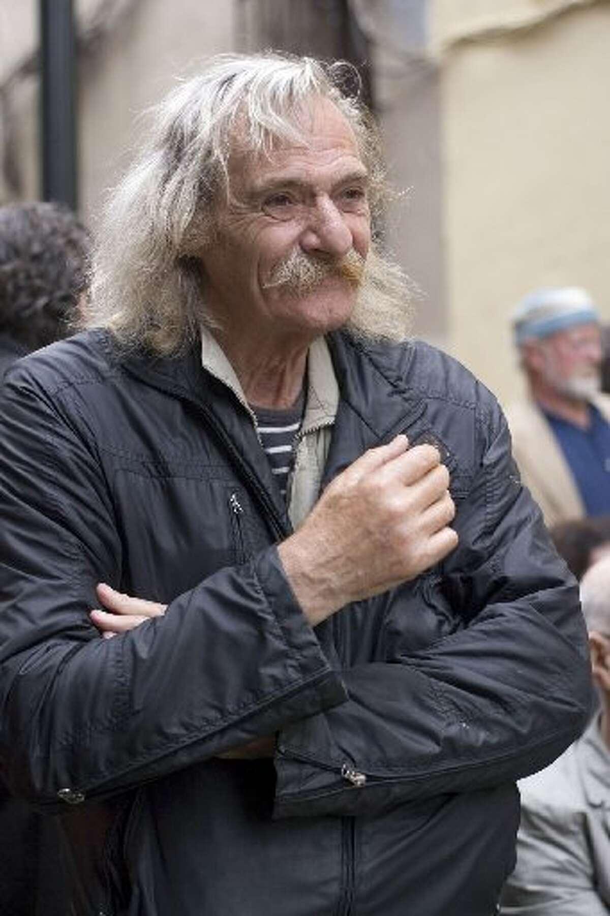 Jack Hirschman is a former poet laureate of San Francisco.