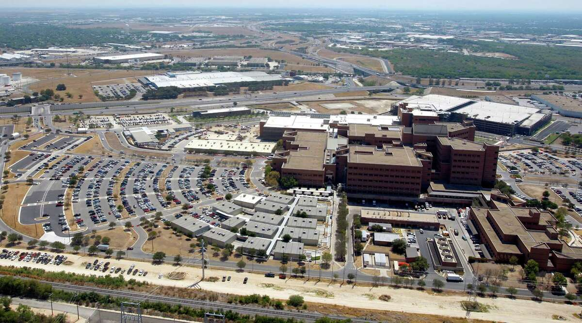 A recently expanded Brooke Army Medical Center at Fort Sam Houston is seen Sept. 6, 2011.