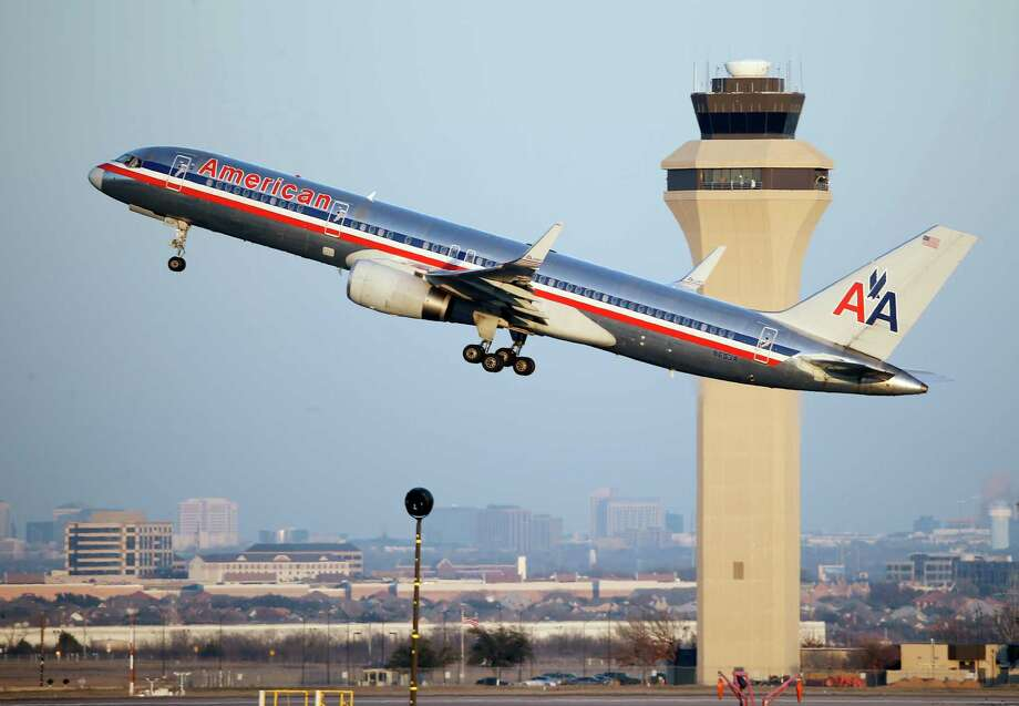 An American Airlines Boeing 757 takes off this month from Dallas-Fort Worth International Airport. Photo: Tony Gutierrez, STF / AP
