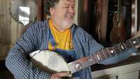 Steve Hartz worked in Houston after college, but soon returned to Nacogdoches, where he's built and played banjos for years.
