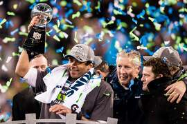 The Seahawks are gunning for their second-straight NFL title. No team has done it since, hey, the New England Patriots -- Seattle's opponent in Super Bowl XLIX -- back in 2004 and 2005. In fact, only seven teams have ever won back-to-back Super Bowls.