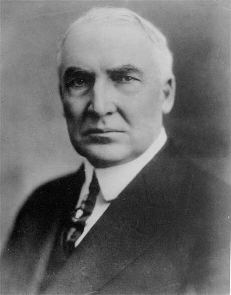 Warren G. Harding's administration was caught up in the Teapot Dome scandal. / AP