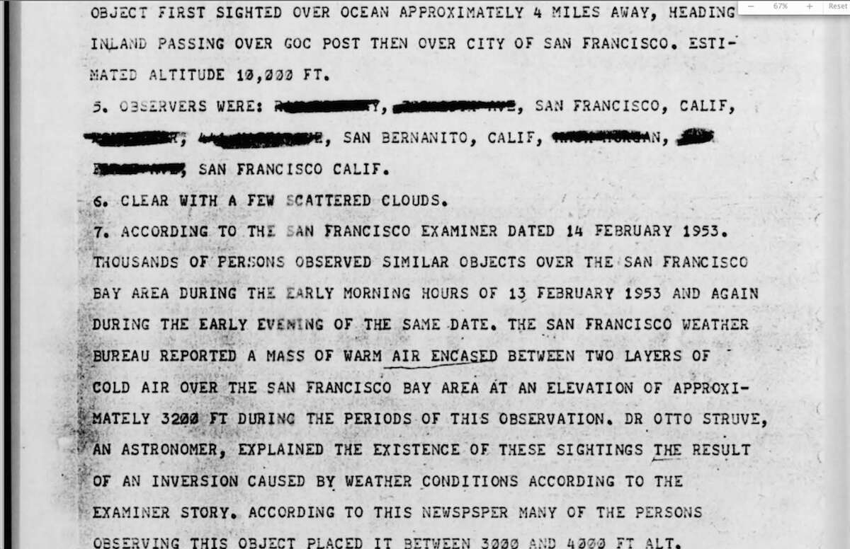 This Feb. 1953 UFO sighting was so widespread that